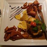 Steak mit Jalapenos und Cheddar überbacken