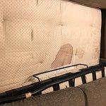Blood stain on mattress!