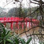 Lake of the Restored Sword (Hoan Kiem Lake) Foto