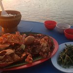 BBQ Seafood, squid yet to arrive