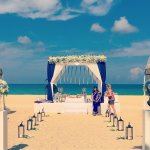Indian wedding on the hotel's private beach