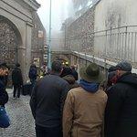 L'ingresso del Bunker da Piazza Castello a Cavriana (MN)