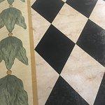 Flooring in foyer.