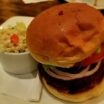 Crabby Patty with Couscous Salad