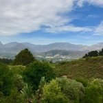 A view along the way from Cape Town to Franschhoek