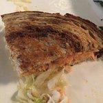 Smoked salmon Reuben