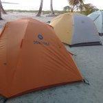Pearl Keys - camping