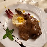 Plat principal : cuisse de canard confite