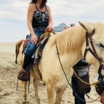 Horseback riding on the beach - Stone Island, Mazatlan