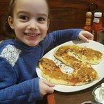 "Sofia & her ""S"" kids' pancake"