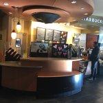 Starbucks inside.