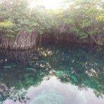 Cenote dentro del hotel