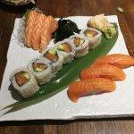 Salmon selection platter