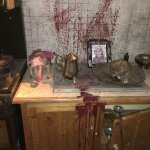 Chambers of Horror.  Worth a visit for those who enjoy gory horror films and thrillers