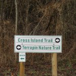 Cross Island Trail starts from here