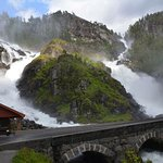 Photo de Latefossen