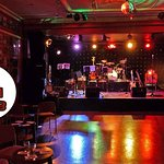 The concert room at the Con CLub, where all the action takes place!