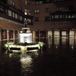 fuente en la plaza central