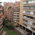 Vista hacia el area residencial
