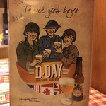 D-Day Beer served here.