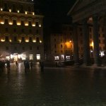 Front of Hotel, Pantheon to the right