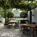One of Several Charming Courtyards for Outdoor Seating