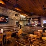 Comfortable inside dining area