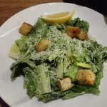 Caesar salad with awesome croutons
