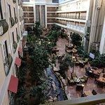 View of atrium from 3rd floor