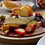 Seasonal Vineyard Platter for 2 - Already Nibbled a Bit, Sorry!