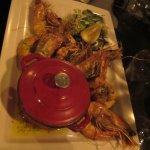crevettes grillées riz