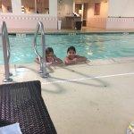 Kids enjoyed the pool