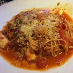 Cappellini w Garlic, Basil, Roma Tomatoes, Mozzarella
