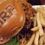 Mushroom and onion burger ... AWESOME!
