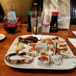 Tuna, Salmon, Eel, Octopus Sushi and Sashimi