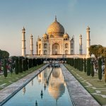 The breathtaking Taj