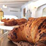 "Italians call them ""cornettos"" - baked fresh on the premises"