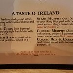 Irish selections