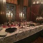 Buffet for dinner