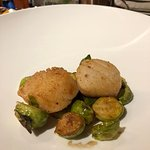 Really juicy and tasty scallops.