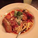 Linguini and Sausage