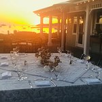 Corporate dining at Sunset