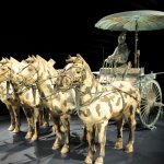 Chariot, Driver, and Horses