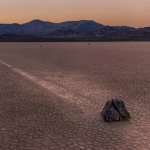 A Sailing Stone after the sunset.