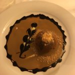 Amazing dessert with coffee sauce. My favorite
