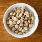 Chef Jeremy Fox's famous lavender almonds.