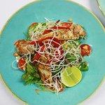 Thai Chicken Salad at Frenzy's