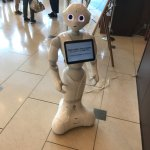If you want an easy check-in go see the robot