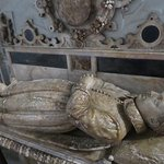 """Beauchamp Chapel: Robert Dudley, """"the noble impe""""."""
