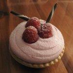 raspberry chocolate tart from gift shop